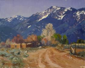 Early Spring, Arroyo Hondo, Near Taos, New Mexico