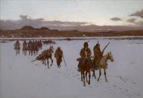 The Departure for the Buffalo Hunt