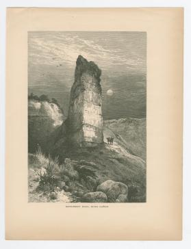 Monument Rock, Echo Canyon