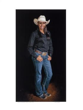 Shelby Mayfield, Barrel Racer, Mesquite, Texas