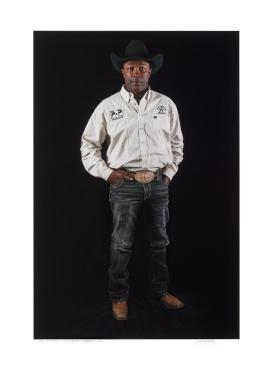 Fred Whitfield, 8 Time PRCA World Calf Roping Champion, Fort Worth, Texas