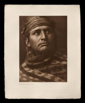 A Chief of the Desert - Navaho
