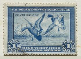1934-35 Federal Duck Stamp; Mallards