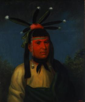 Amiskquew, A Menominee Warrior