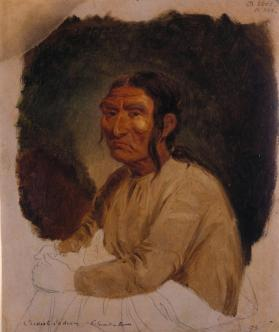 Casanov, Noted Warrior, Chief from Fort Vancouver