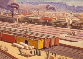 Albuquerque Railroad Yards